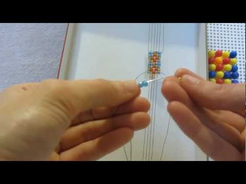 Так можно плести картины из бисера.  Я придумала способ переделывания картинок в схемы для плетения картин из бисера...
